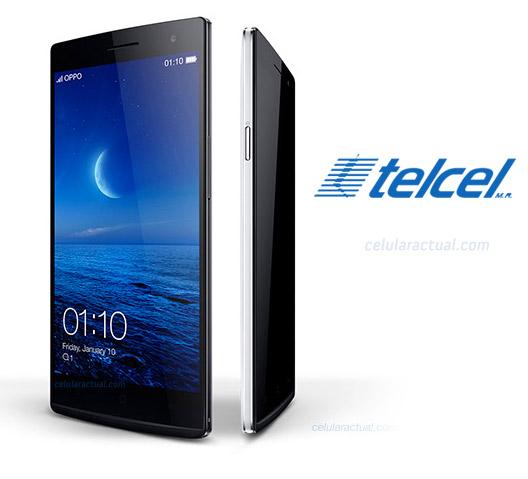 Oppo Find 7 QHD en México con Telcel