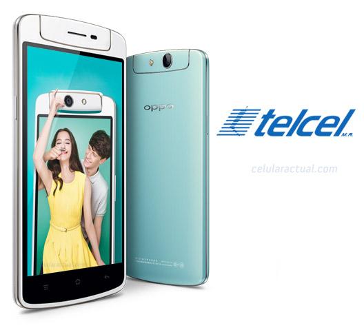 Oppo N1 mini en México con Telcel