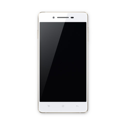 Oppo R1 con Telcel pantalla