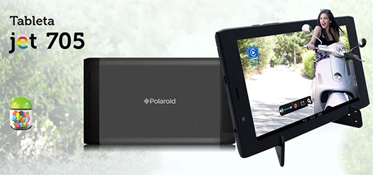 Polaroid Jet 705 tablet con Android y TV Digital ya en México con Telcel
