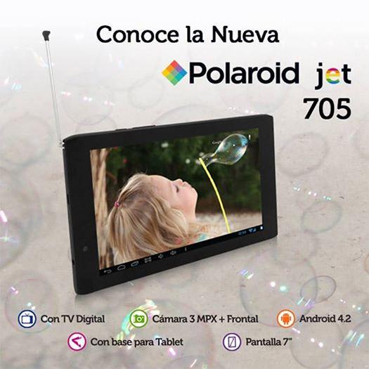 Polaroid Jet 705 con Telcel