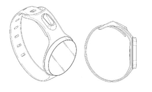 Samsung patente reloj inteligente circular