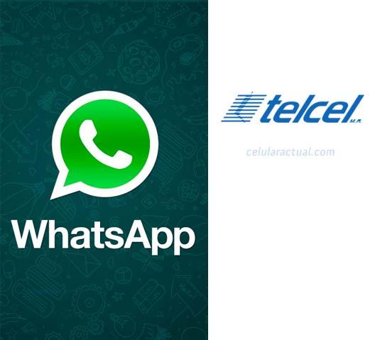WhatsApp con Telcel