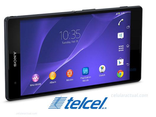 Sony Xperia T2 Ultra con Telcel México