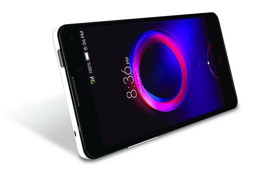 ZTE nubia 5S mini LTE recostado pantalla