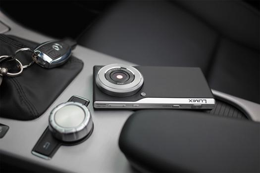 Panasonic Lumix CM1 acostado