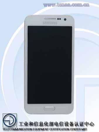 El Galaxy A3 aparece en primeras imágenes desde su certificación