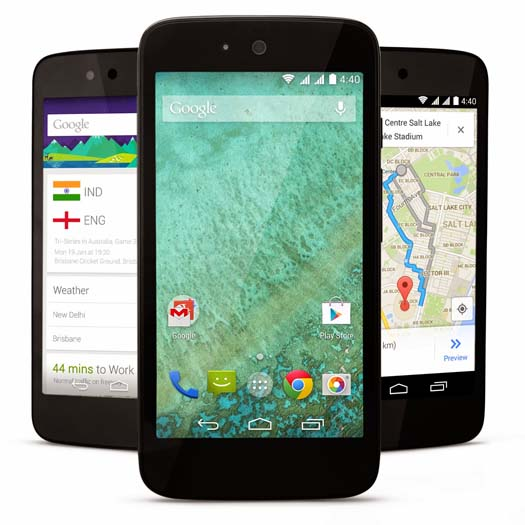 Android One en dispositivos