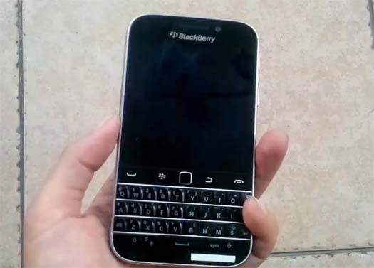 Blackberry Classic filtrado