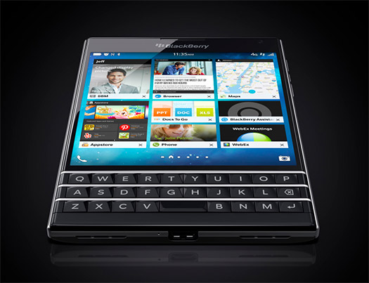 BlackBerry Passport color negro