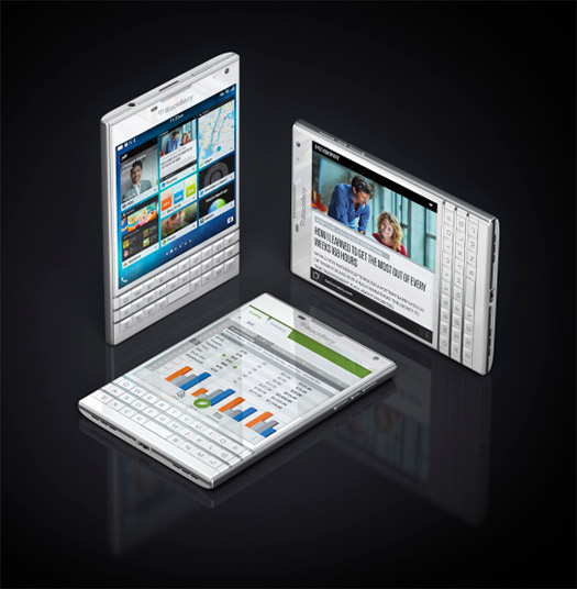 BlackBerry Passport color plata, pantalla cuadrada de 4.5 pulgadas HD