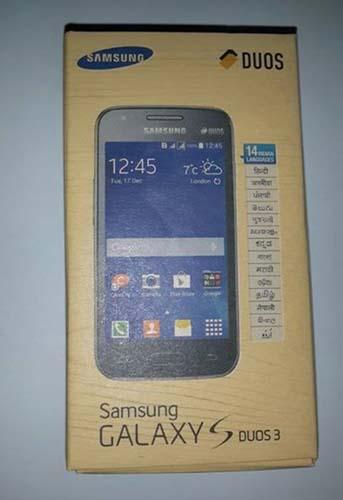 Caja Galaxy S Duos 3