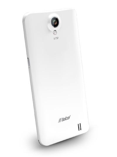 Nyx Fly II color blanco  trasera cámara