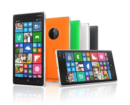 Lumia 830 Colores
