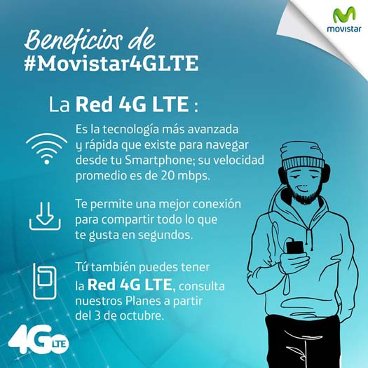 Movistar red 4G LTE