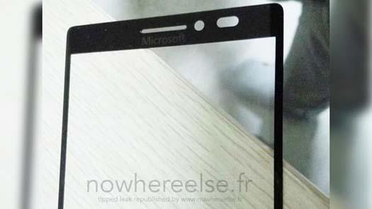 Panel de Lumia sin logo de Nokia