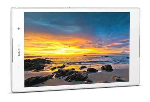 Xperia Z3 Tablet pantalla