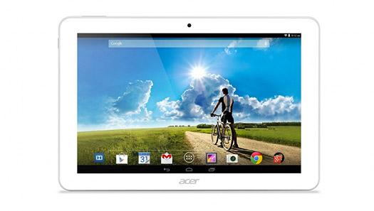 Acer Iconia Tab 10 con Android KitKat pantalla