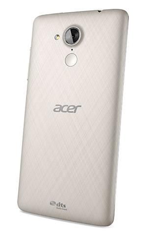 Acer Liquid Z500 blanco trasera cámara