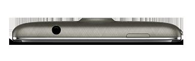 Acer Liquid Z500 color negro espesor lateral arriba