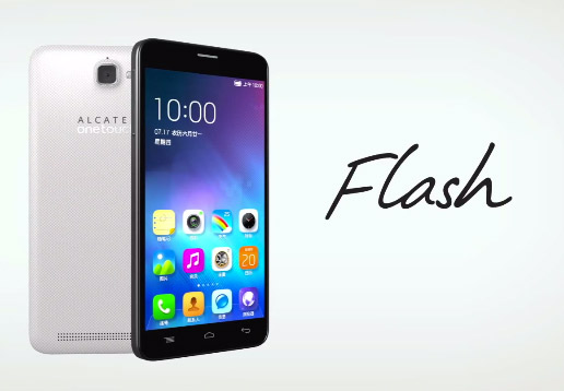 Alcatel OneTouch Flash 6042D pantalla y cá