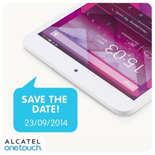 Alcatel Save The Date 23 de septiembre 2014Alcatel Save The Date 23 de septiembre 2014