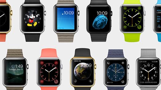 Apple Watch diferentes correas y colores