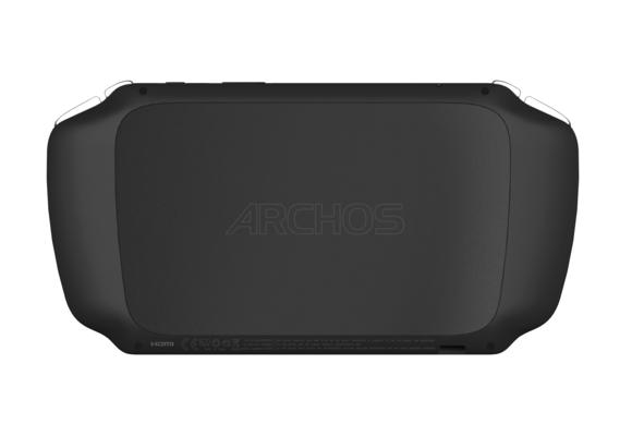 Archos Gamepad 2 consola Android parte trasera