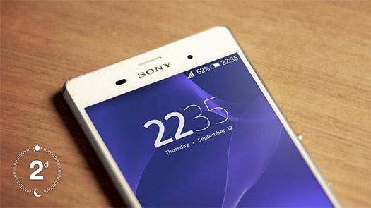 Sony Xperia Z3 dos días de batería