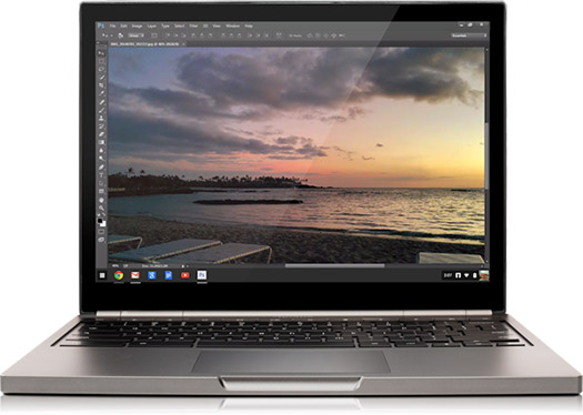 Photoshop llega a las Chromebooks con Creative Cloud