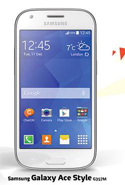 Samsung Galaxy Ace Style en México con Telcel
