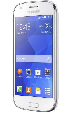 Samsung Galaxy Ace Style en México con Telcel pantalla de lado
