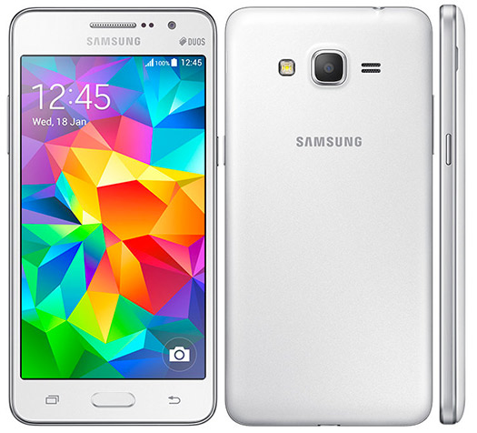 Samsung Galaxy Grand Prime cámara frontal de 5 MP