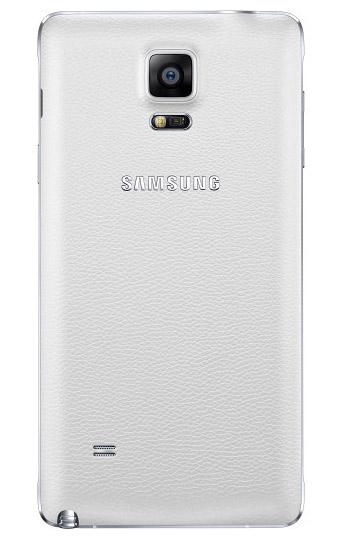 Samsung Galaxy Note 4 color blanco