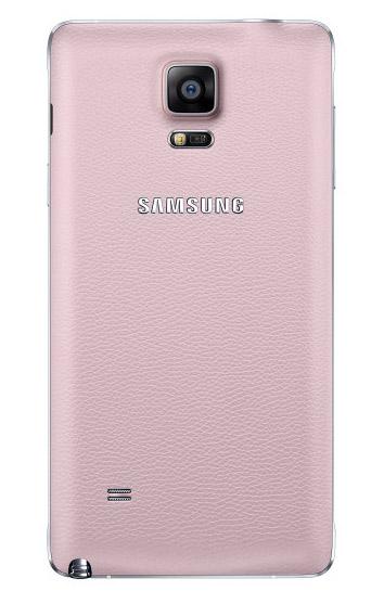 Samsung Galaxy Note 4 color Rosa