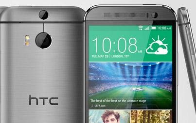 HTC One M8 detalle
