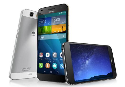 Huawei  Ascend G7 pantalla y cámara