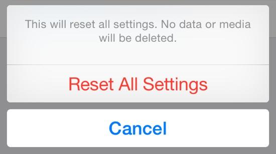 falla en iOS 8