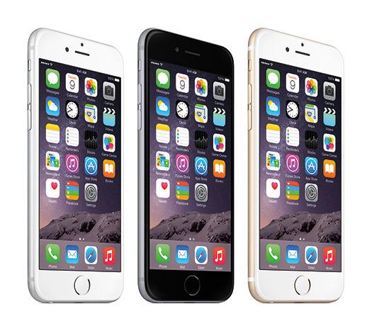 Apple iPhone 6 y iPhone 6 Plus oficial pantallas