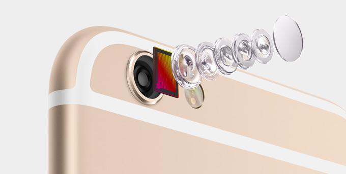 iPhone 6 nuevo sensor con Estabilizador de imagen óptica
