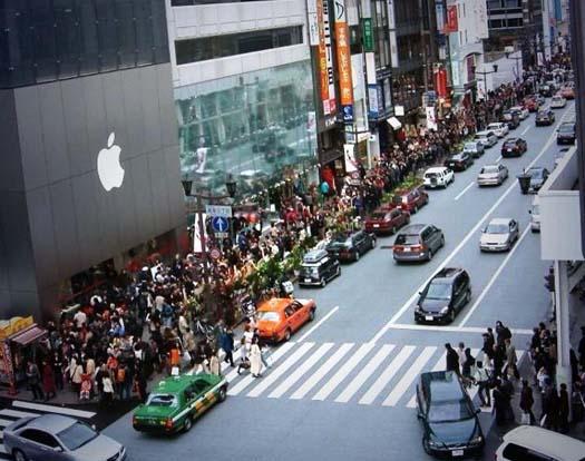 tumulto por venta de iPhone 6