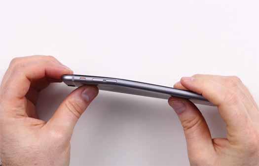 iPhone 6 doblado