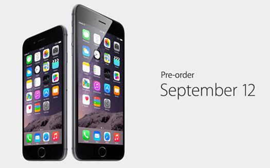 iPHone 6 y iPhone 6 Plus llegarán en septiembre