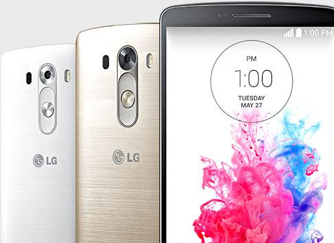 LG G3 pantalla detalle