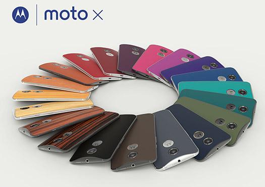Motorola New Moto X todos los colores