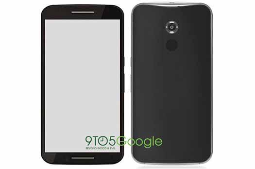 Nexus 6 filtrado