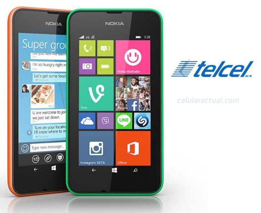 Nokia Lumia 530 con Telcel México