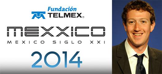 Mark Zuckerberg en Telmex México Siglo XXI 2014