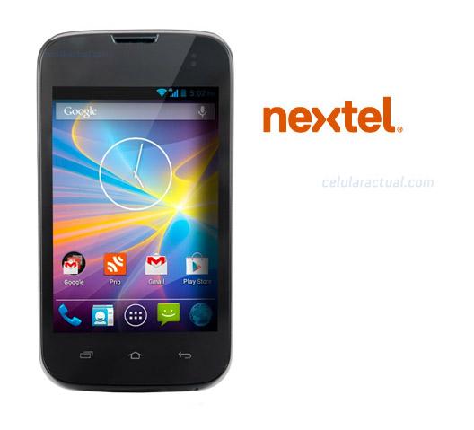 VSN Mobil V.35 en Nextel México logos