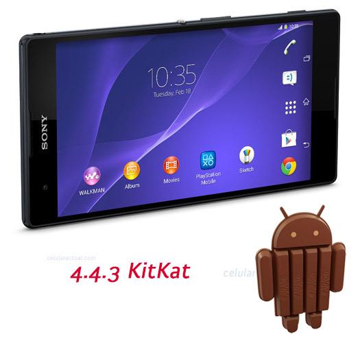 Sony con Android 4.4.3 KitKat el Xperia T2 Ultra
